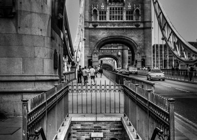 Down The Tower Bridge, London